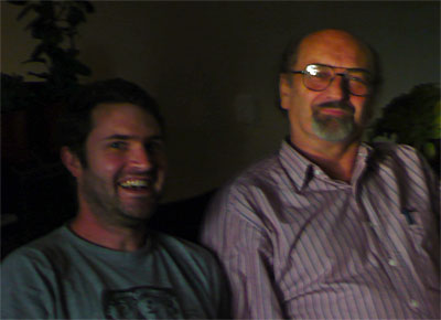 Andrew Choate with György Szabados